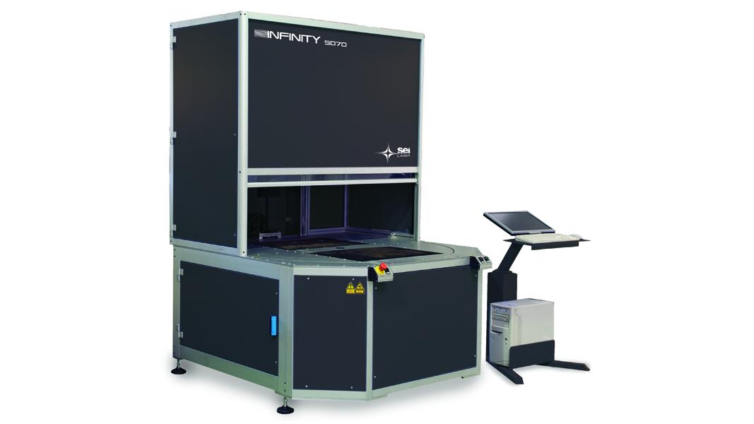 macchina laser per la marcatura di carta e poliestere