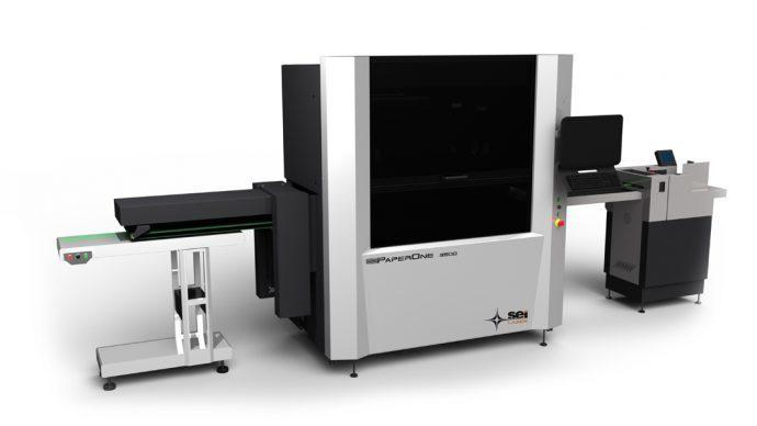 macchina laser per la fustellatura di carta