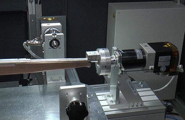 asse rotativo laser